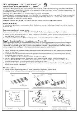LED 3-Complete Instructions