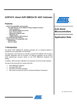 avr1321: using the atmel avr xmega 32, Wiring schematic