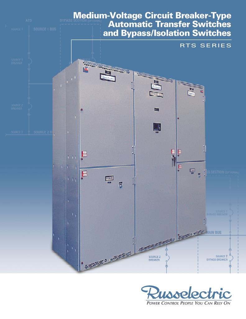 Medium-Voltage Circuit Breaker-Type Automatic Transfer Switches