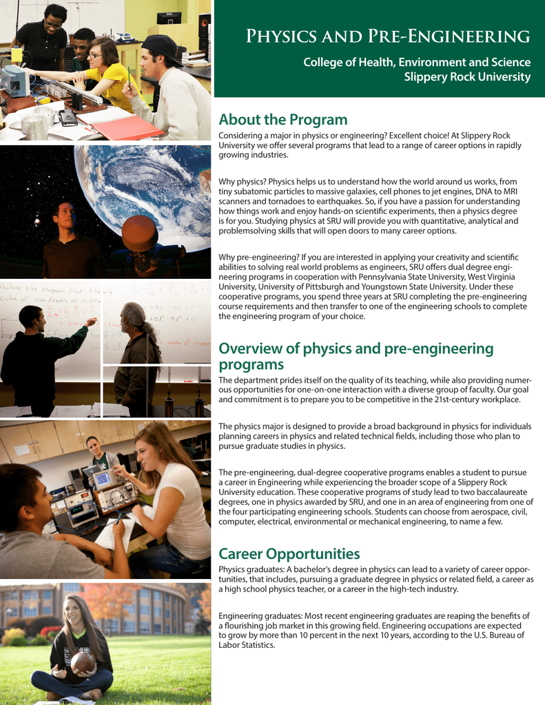 physics degree job