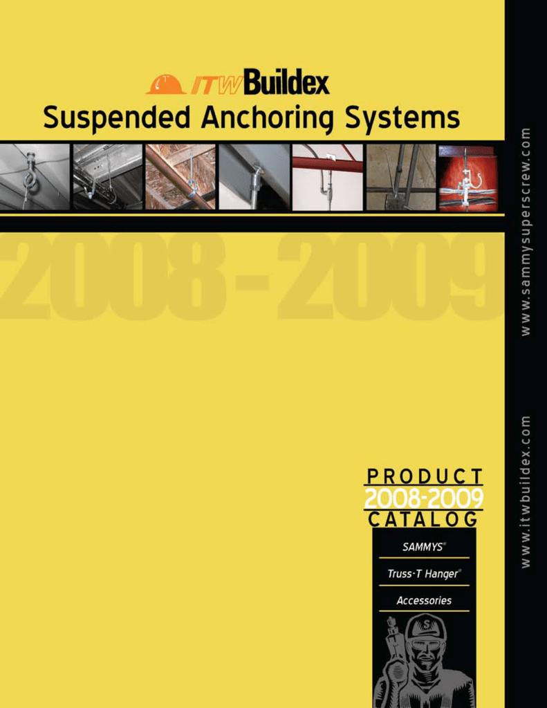 Sammys 1//4-20 x 2 Threaded Rod Hanger for Steel 8027957 Self-Drilling 25