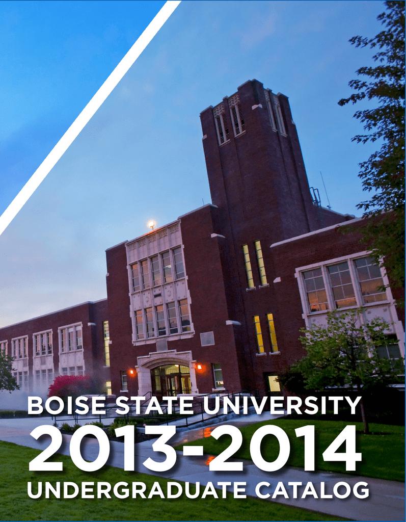 Scholarworks Boise State University