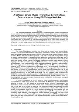 multilevel inverter phd thesis