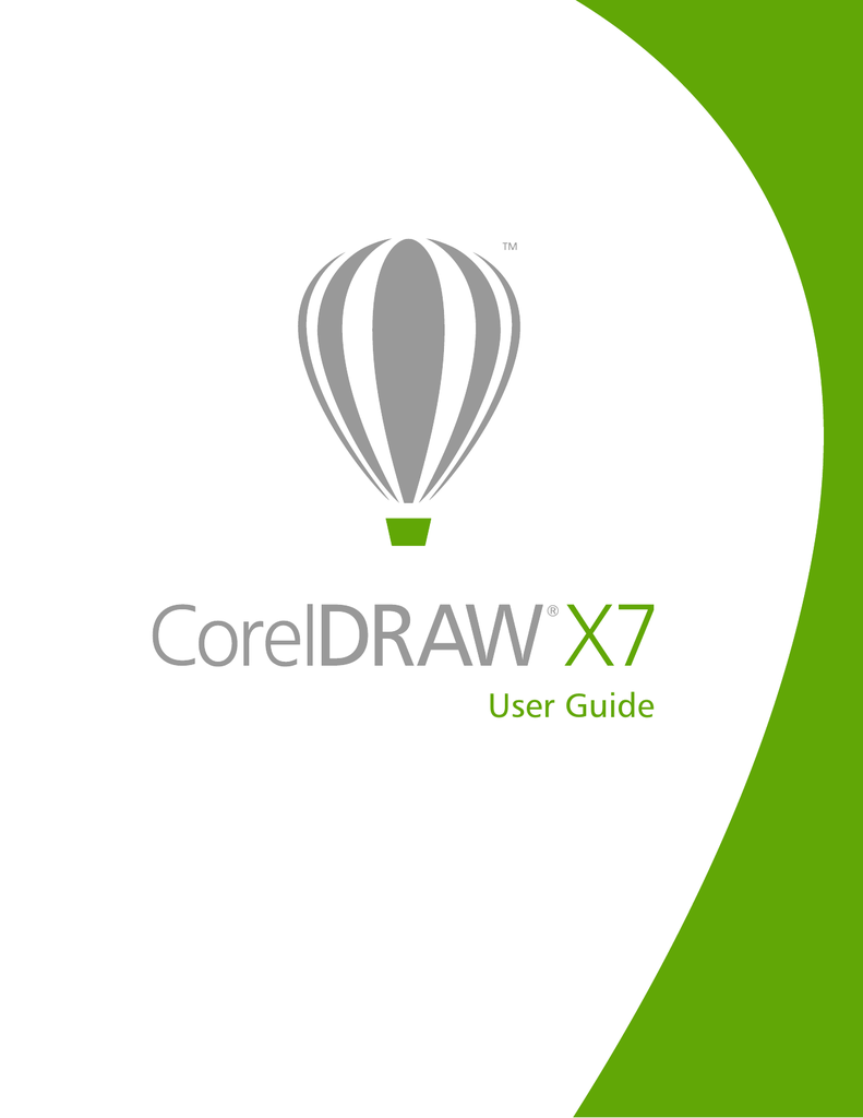 CorelDRAW X7 User Guide