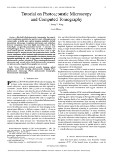 Tutorial on Photoacoustic Microscopy and Computed Tomography