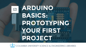 arduino basics: prototyping your first project