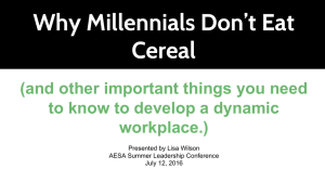 Why Millennials Don`t Eat Cereal