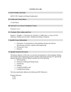 Syllabi - UTEP Mechanical Engineering