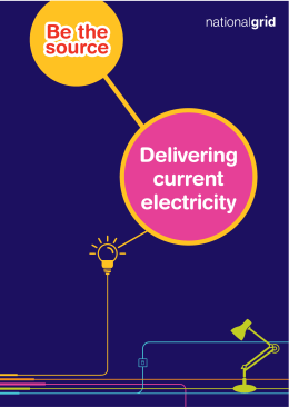 Delivering current electricity