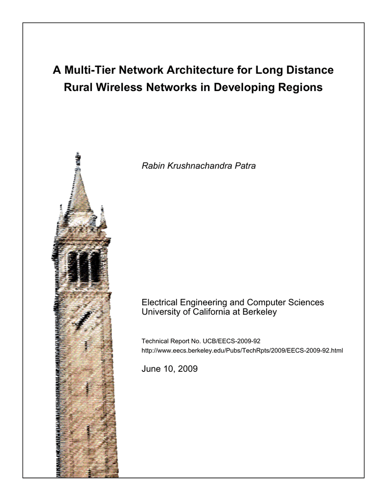 A Multi Tier Network Architecture For Long Distance Rural Wireless Poe Power Over Ethernet Nycwireless