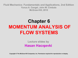 Momentum Analysis of Flow Systems File