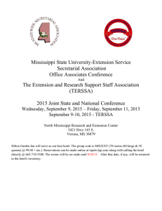Mississippi State University-Extension Service Secretarial