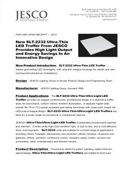 save these instructions important safety new slt 2232 ultra thin led troffer from jesco
