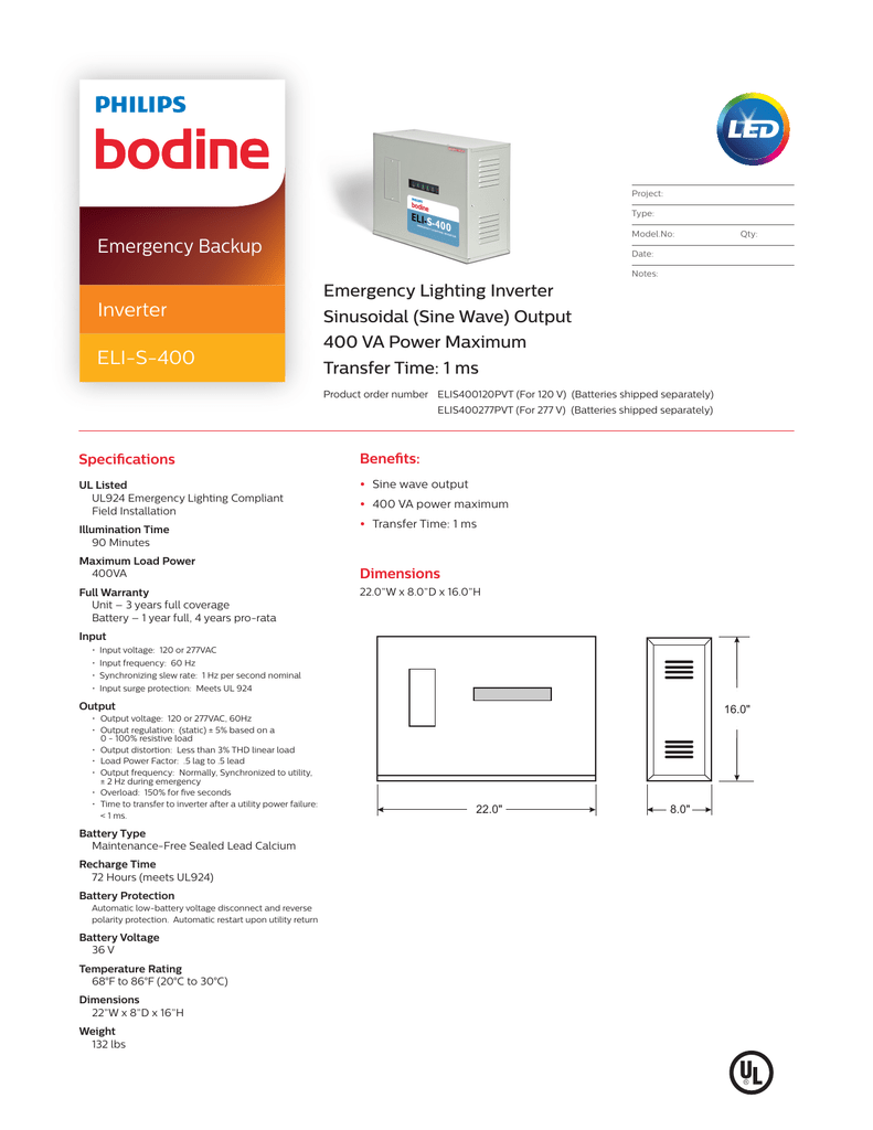 Bodine Eli S 100 Wiring Diagram 31 Images Corbeil Diagrams 400 Spec Sheet 018580985 1 36d51d4051e1085c69673afd6e7a0a60 At
