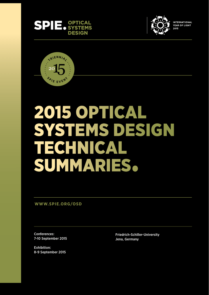 Technical Abstracts
