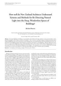 How well do New Zealand Architects Understand Systems and