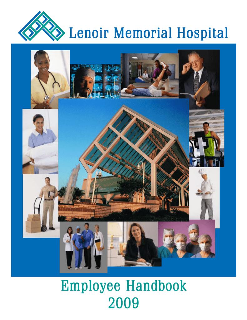 LMH Handbook - Lenoir Memorial Hospital