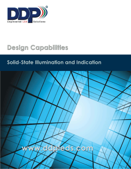 Solid-State Illumination and Indication