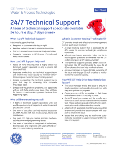 24/7 Technical Support