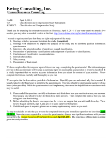 Cover Letter Classification Study - Human Resources
