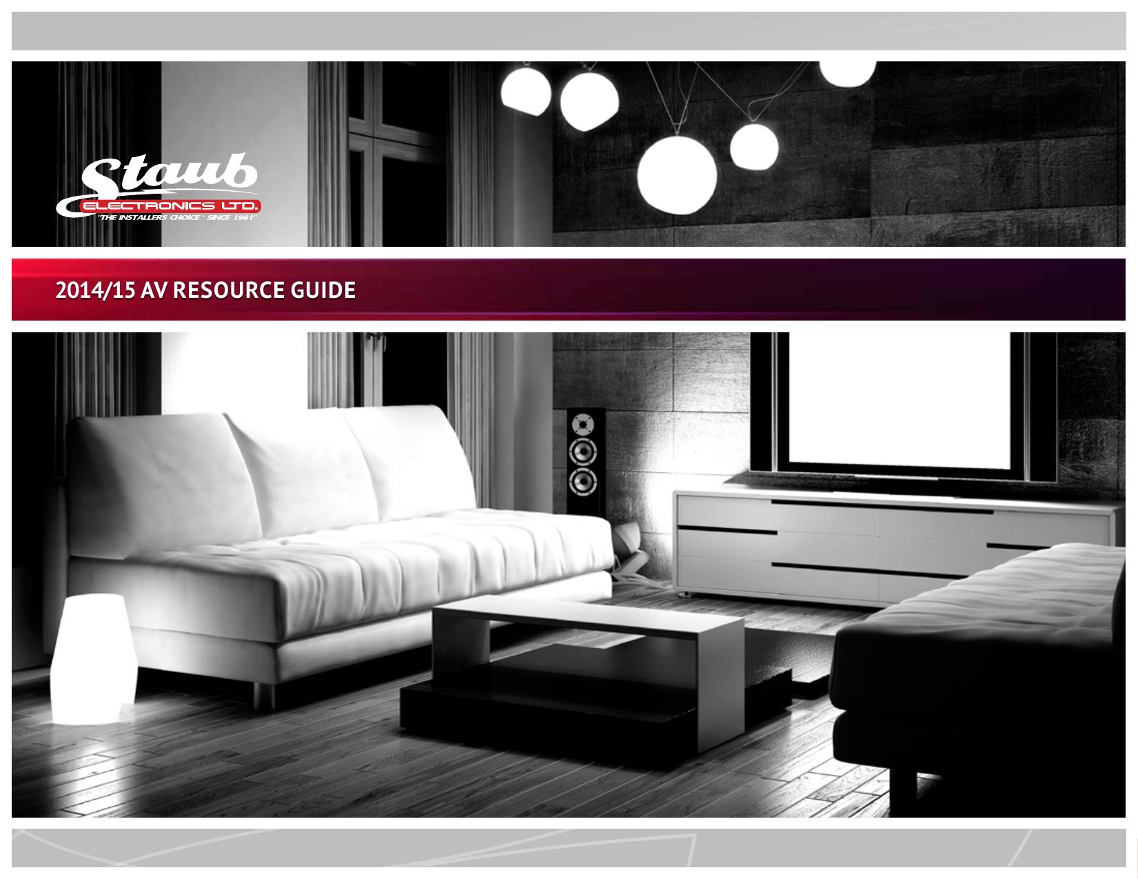 2014 15 Av Resource Guide Wirepath Structured Wiring