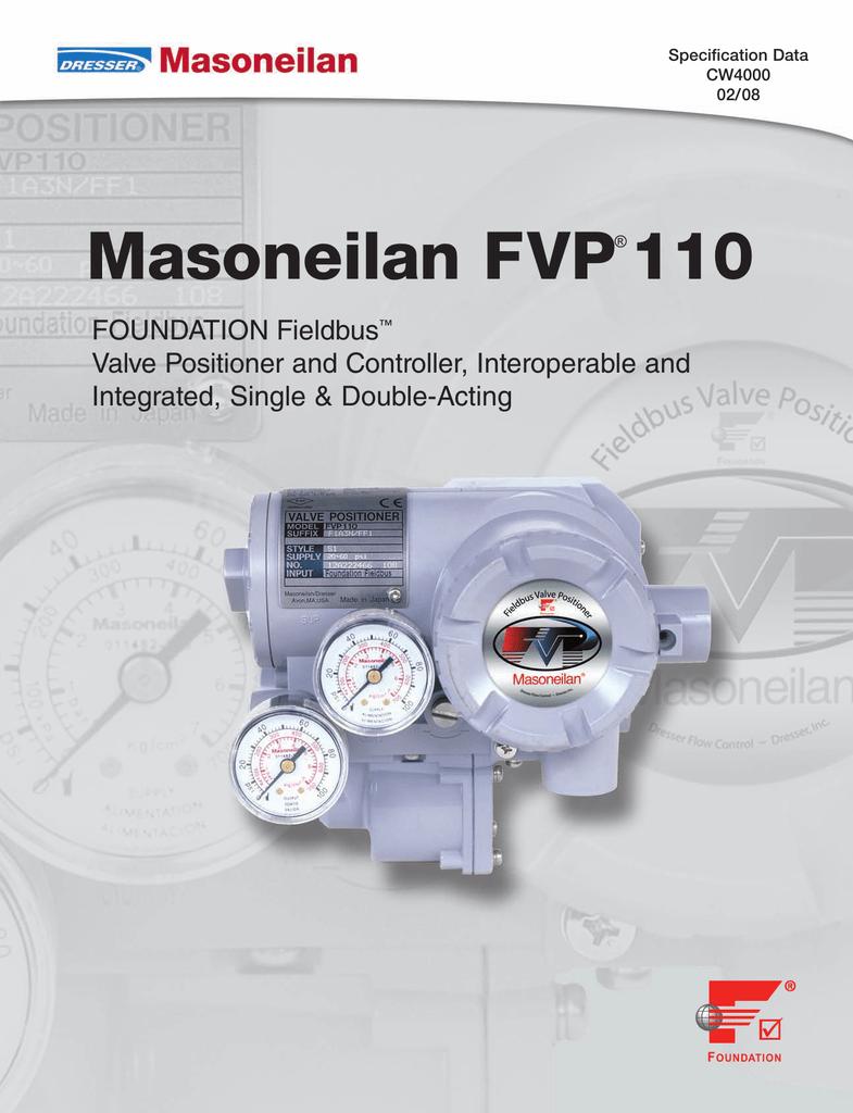 Masoneilan FVP 110