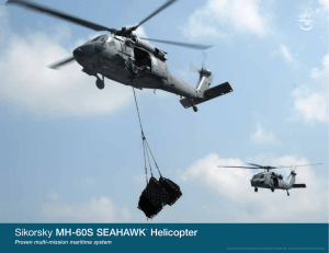 Sikorsky MH‑60S SEAHAWK® Helicopter