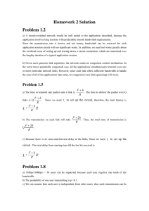 Homework 2 Solution Problem 1.2 ts ts Problem 1.8