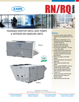 complete aaon product line rh studylib net Aaon Rooftop Units Wiring-Diagram Location Lennox Wiring-Diagram