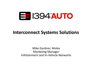 l Interconnect Systems Solutions