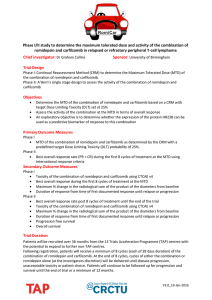 trial summary document - University of Birmingham