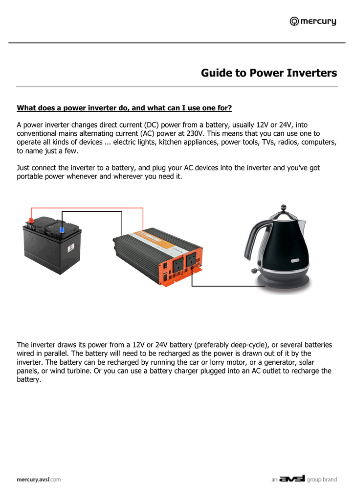 Guide to Inverters