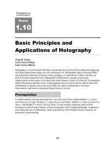 Lectures/notes/lecture 35 Holography pptx