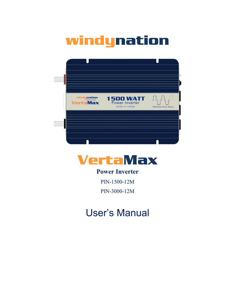 1500w And 3000w Vertamax Owners Manual Pin Digital Modified Sine Wave Inverter Circuit 250 Watts Electronic
