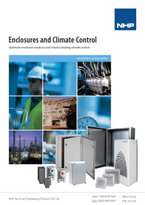 Enclosures and Climate Control