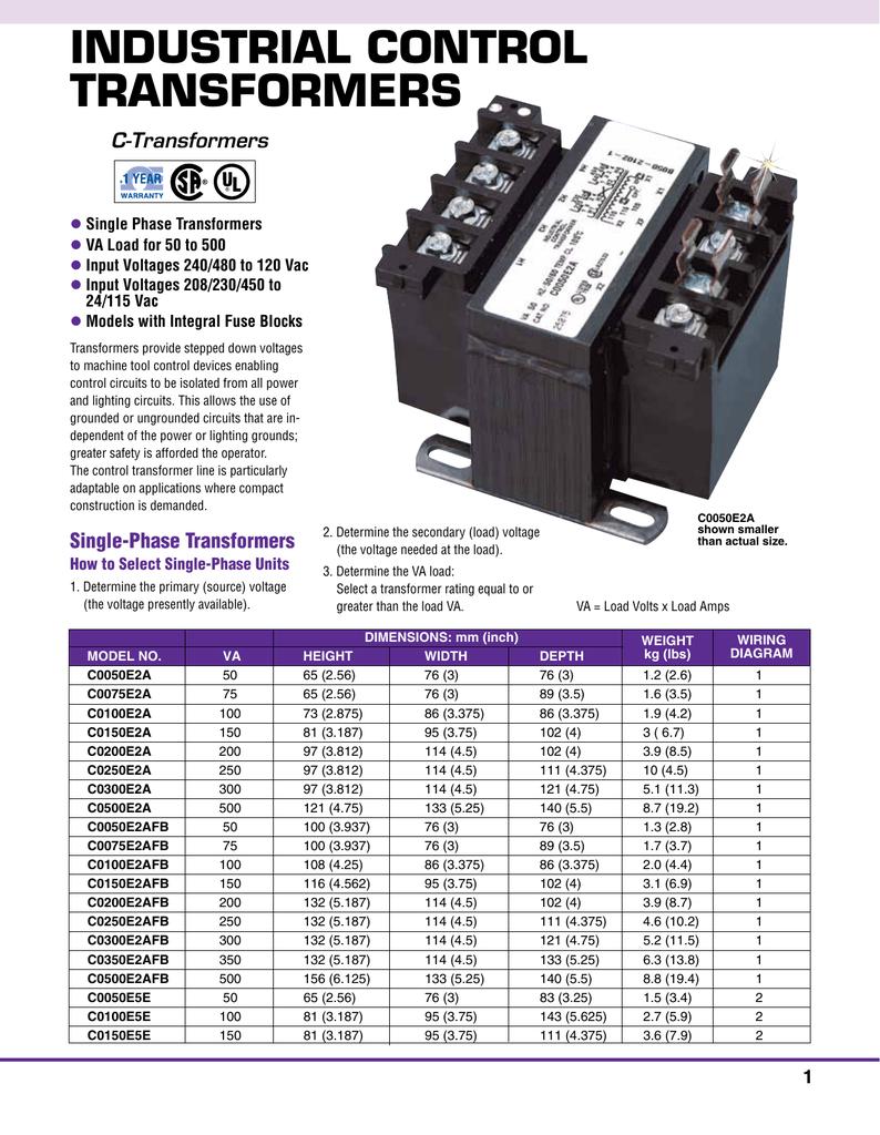 Diagram Volt 480 Wiring Transformer C0050e2afb - Wiring Library •