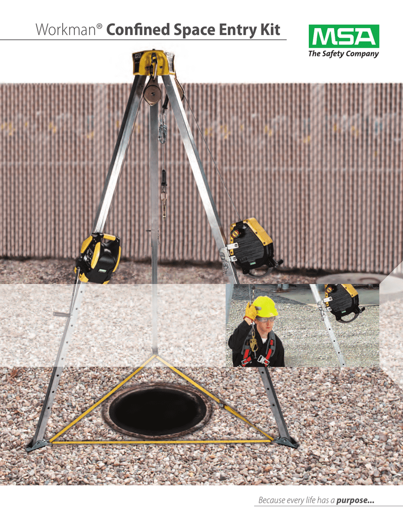 MSA 10163033 Confined Space Entry Kit