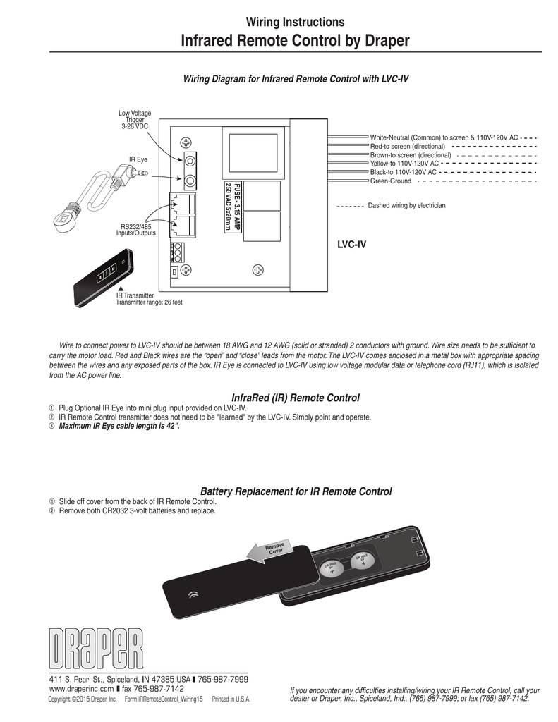 ir remote control wiring control wiring diagrams 4 infrared controls wiring diagram #11