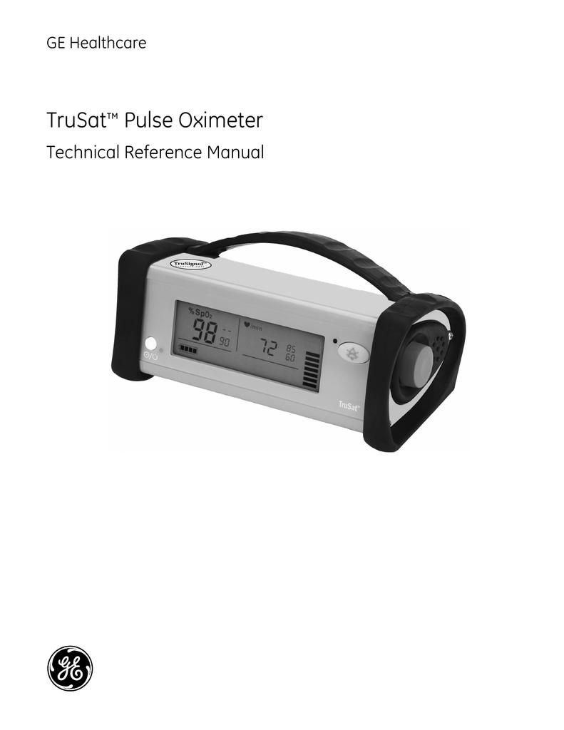 Trusat pulse oximeter pdf free download.