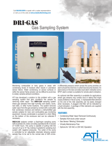C21 DRI-GAS Sampling System - Analytical Technology, Inc.