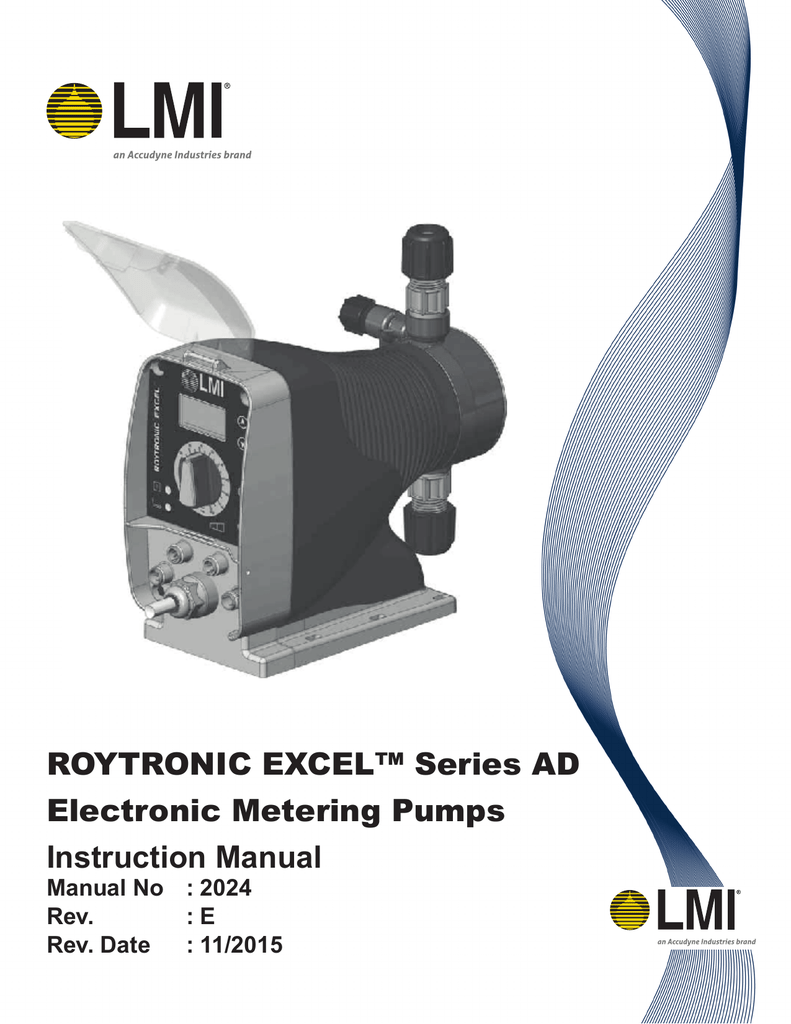 Magnificent Lmi Pump Ad Series Manual Wiring 101 Capemaxxcnl