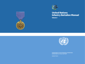 United Nations Infantry Battalion Manual