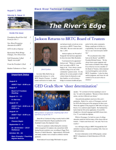 volume 6, issue 11 - Black River Technical College