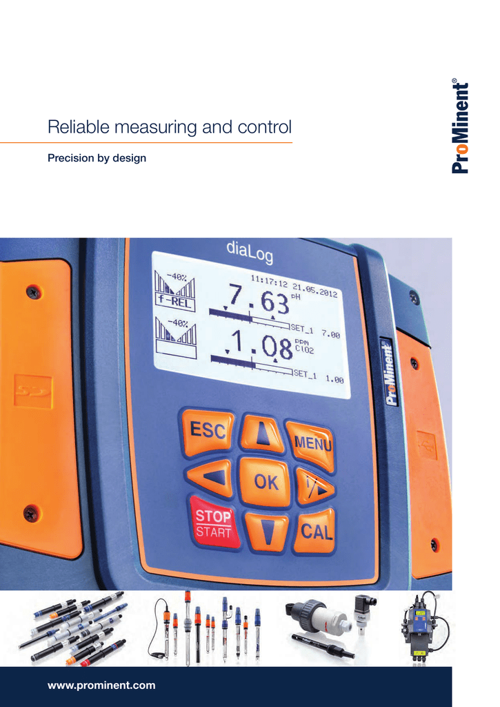 Brochure - Measuring and Control