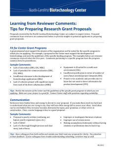 Learning from Reviewer Comments: Tips for Preparing Research