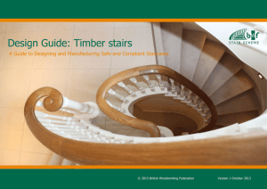 Design Guide: Timber stairs