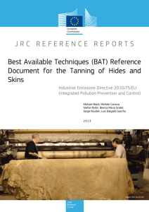 JRC RR - Best Available Techniques (BAT) Reference Document for
