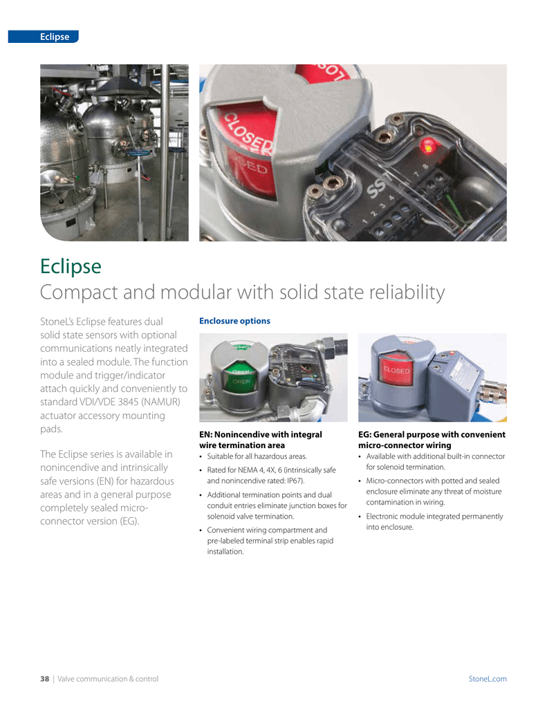 Eclipse Compact and modular with solid state reliability