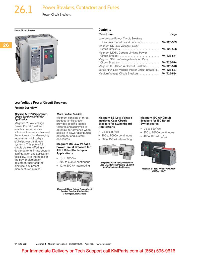 power circuit breakers rh studylib net