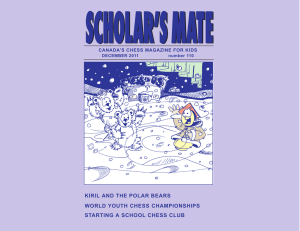 scholar`s mate - Chess`n Math Association